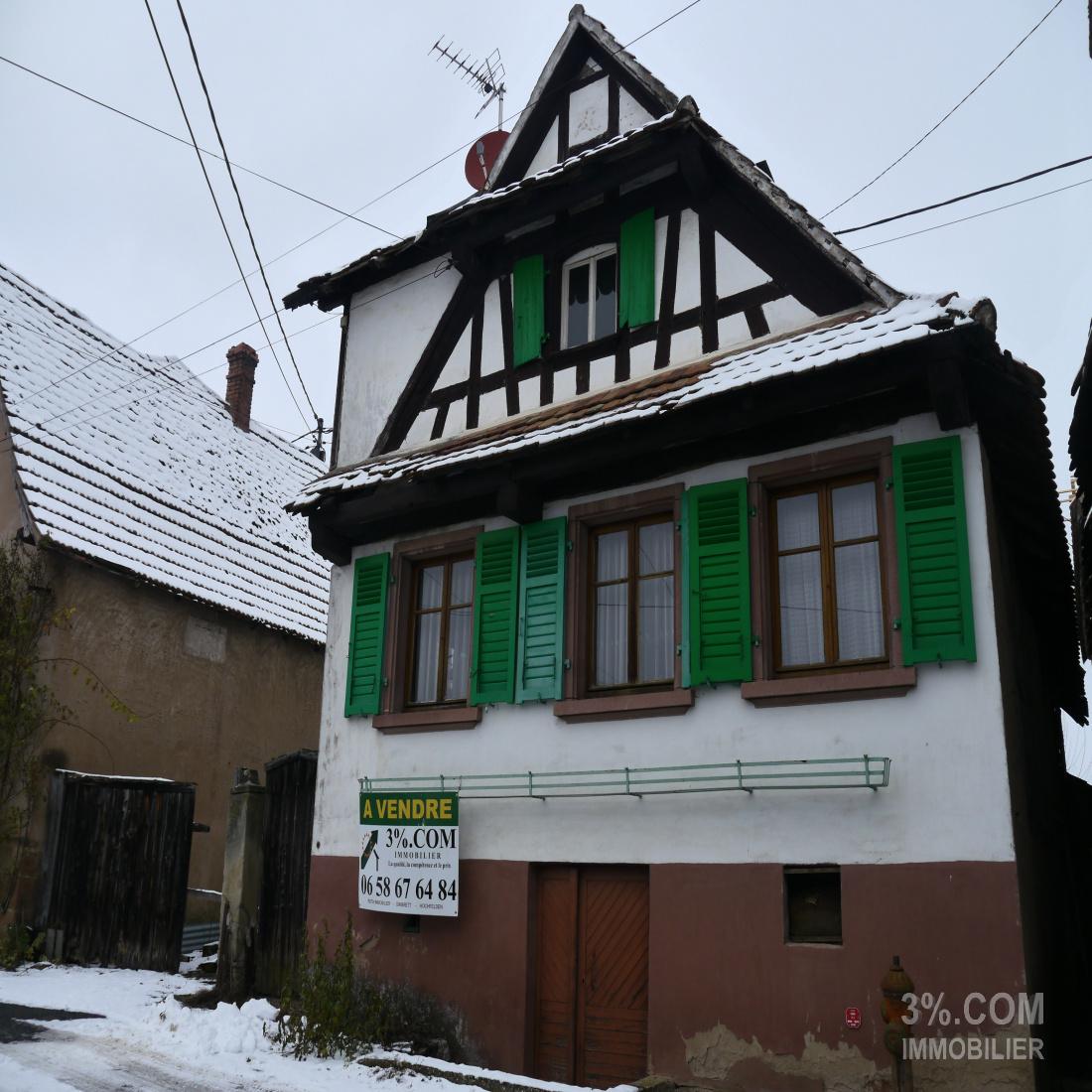 Rénover Une Maison Alsacienne vente maison à wickersheim wilshaussen